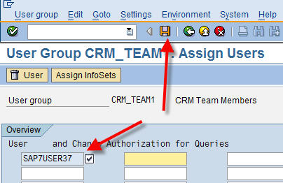 Add User(s) to a User Group in SQ03