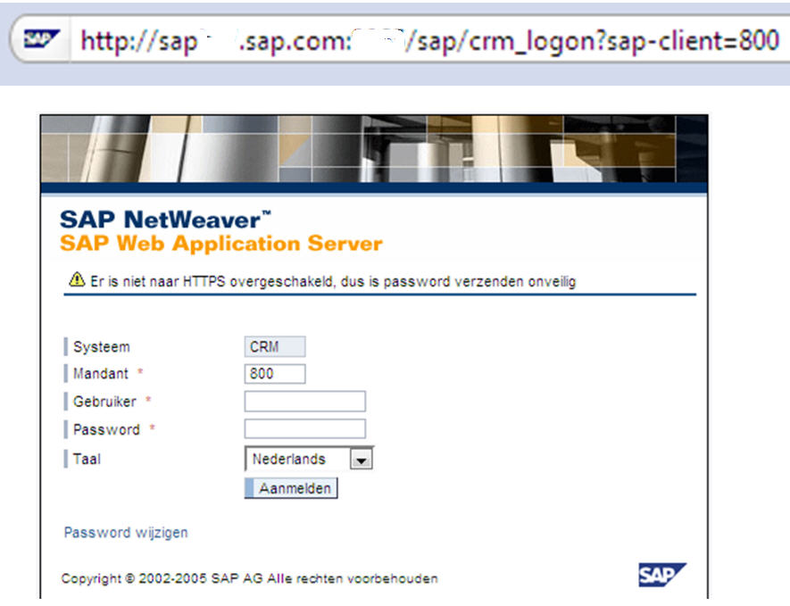 How to launch the SAP CRM WEBUI